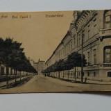 Carte Postala veche - Arad Bulevardul Carol I 1918 (2 poze), Necirculata, Fotografie
