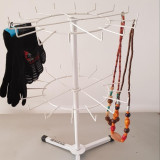 Suport stand rack rotativ  mic pentru expunere bijuterii, brelocuri, martisoare