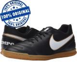 Pantofi sport Nike Tiempo Rio 3 pentru barbati - adidasi originali - fotbal, 40 - 42, 42.5, 45, Negru
