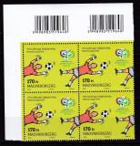 Ungaria 2006  sport  fotbal MI 5102  bloc de 4   MNH w54, Nestampilat