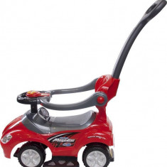 Masinuta Mega Car Delux - Sun Baby - Rosu
