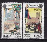 Italia 1981  Europa  SAH  MI 1748-49   MNH w54