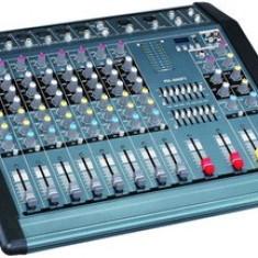 MIXER PROFESIONAL CU PUTERE 1300 WATT/USB PLAYER,12 CANALE,EFECTE  VOCE.NOU.