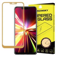 Folie Sticla Full Cover Full Glue Wozinsky Huawei Mate 20 Lite Cu Adeziv Pe Toata Suprafata Foliei Gold