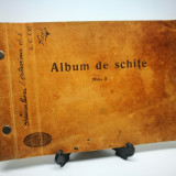 Album de schite, Anul 1939. Desene executate de un elev in clasa I. De colectie!