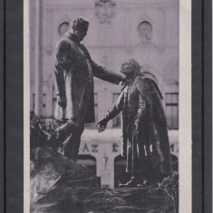 ZALAU  STATUIA  BARONULUI  WESSELENYI  SI  BACIULUI  SAMSON, Necirculata, Printata