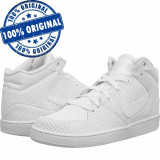 Pantofi sport Nike Priority Mid pentru barbati - ghete originale - iarna zapada, 44, 44.5, 45, 46, Alb, Piele naturala
