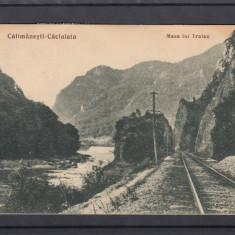CALIMANESTI-CACIULATA  MASA LUI TRAIAN  LIBRARIA  ANASTASIU & PETRESCU R-VALCEA, Circulata, Printata