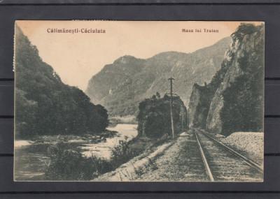 CALIMANESTI-CACIULATA  MASA LUI TRAIAN  LIBRARIA  ANASTASIU & PETRESCU R-VALCEA foto