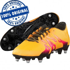 Pantofi sport Adidas X 15.3 pentru barbati - adidasi originali - ghete fotbal, 40 2/3