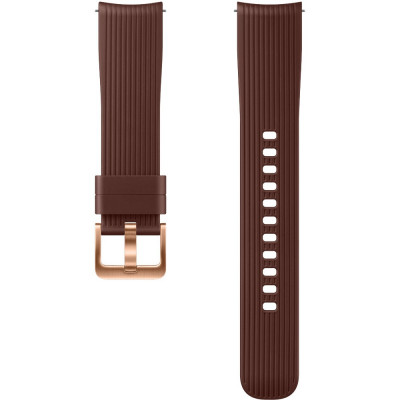 Bratara Silicon Pentru Galaxy Watch (42MM) Maro foto