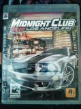 Joc Midnight club LA, NFS, original, PS3! Alte sute de jocuri!, Curse auto-moto, 3+, Single player, Ea Games