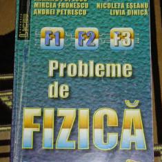 RWX 31 - PROBLEME DE FIZICA - CLASA A X-A - EDITATA IN 2000
