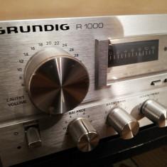Amplificator/Tuner Stereo  GRUNDIG R1000 - Vintage/RFG/Impecabil