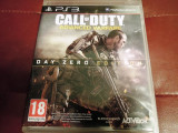 Joc Call of Duty Advanced Warfare Day Zero, PS3, original, alte sute de jocuri!, Shooting, 18+, Single player, Activision