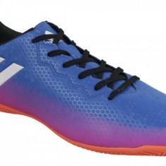 Încălțăminte de sală adidas Messi 16.4 IN BA9027 pentru Barbati, 44, 44 2/3, 46, 46 2/3, Albastru