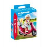 Fata cu scooter - VV25045, Playmobil
