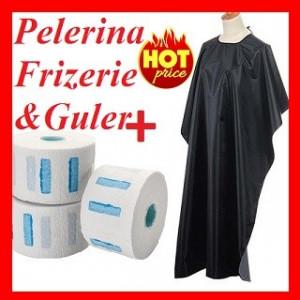 Set Pelerina Coafor/Frizerie +Rola Guler