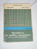 myh 33 - INTRODUCERE IN ANALIZA MATEMATICA PRIN EXERCITII SI PROBLEME - ED 1976