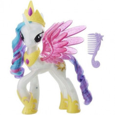 Figurina My Little Pony the Movie Glitter and Glow Princess Celestia - VV25794, Hasbro