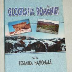 RWX 30 - GEOGRAFIA ROMANIEI PENTRU TESTAREA NATIONALA - EDITIE 2005