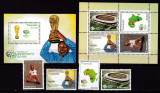 Tanzania 2006  sport  fotbal MI 4342-4345 + 2 bl.587,588   MNH w54, Nestampilat