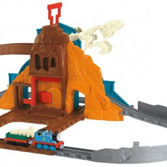 Jucarie baieti Trenuletul Thomas si prietenii Roaring Dino, Seturi complete, Fisher Price