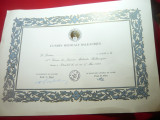 Diploma nedecernata- Uniunea Medicala Balcanica -A 11a Sesiune 1989