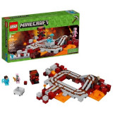 LEGO Minecraft  Calea Ferata 387 piese