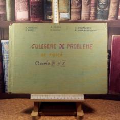 """A. Hristev - Probleme de fizica pentru clasele IX - X """"A5155"""""""