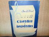 CANTAM SI INVATAM-ION D.VICOL ANUL 1962