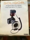 Soligor ringflash AR14 TTL digital, Dedicat