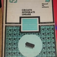 RWX 31 - CIRCUITE INTEGRATE LINIARE - VOLUMUL II - EDITATA IN 1979