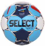 HB Ultimate Replica Champions League 2018 minge handball alb-albastru n. 1