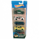 Set 5 masinute Hot Wheels, 4-6 ani, Plastic