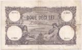 ROMANIA 20 LEI 1929 VF