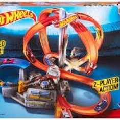 Jucarie baieti Spin Storm Hot Wheels, 4-6 ani, Electrice, Plastic