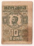 ROMANIA 10 BANI 1917 F