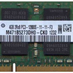 Memorii Laptop SODIMM Samsung 4GB DDR3 PC3-12800S 1600Mhz, 4 GB, 1600 mhz