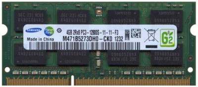 Memorie Laptop Samsung 4GB DDR3 PC3-12800S 1600Mhz M471B5273DH0 foto