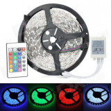 Banda LED color Instalatie Craciun 270LED SMD RGB Telecomanda,5m