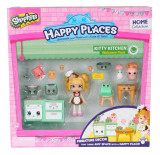 Set de joaca Happy Places S1 - Kit-ul de bun-venit Kitty Kitchen, Moose