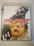 Joc PURE, PS3, original! Alte sute de jocuri!, Curse auto-moto, 3+, Multiplayer
