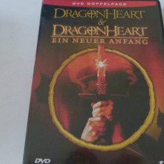 dragon heart 1,2 - dvd