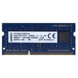 Memorii Laptop Kingston 4GB DDR3 PC3L-12800S 1600Mhz 1.35V