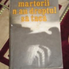 RWX 33 - MARTORII N AU DREPTUL SA TACA - OLIVER LUSTIG - EDITATA IN 1986