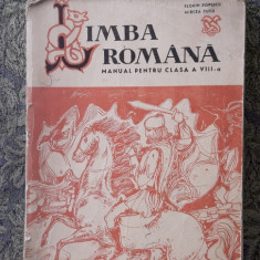 LIMBA ROMANA CLASA  A VIII A - POPESCU , CUCU ., Clasa 8
