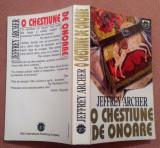 O Chestiune De Onoare. Editura RAO - Jeffrey Archer