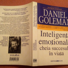 Inteligenta emotionala, cheia succesului in viata - Daniel Goleman, All, 2008