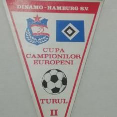MCFA - FANION - DINAMO - DINAMO BUC - HAMBURG SV - CCE - 19 OCTOMBRIE 1983